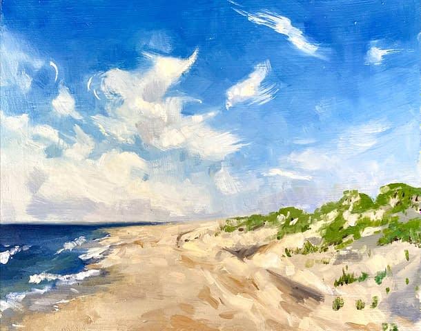 Island Beach Plein Air